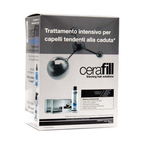 Redken Cerafill Kit Intensivo + Shampoo 290ml + 20 Fiale