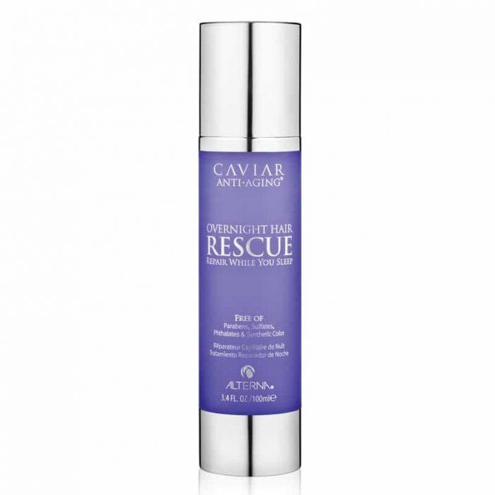 siero riparatore notturnoalterna caviar treatment overnight hair rescue