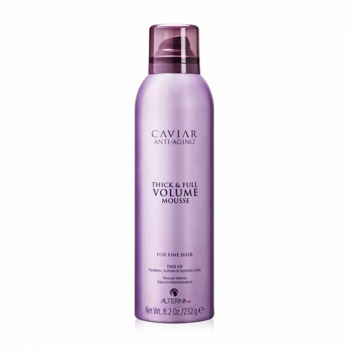 mousse volumizzante alterna caviar volume thick full