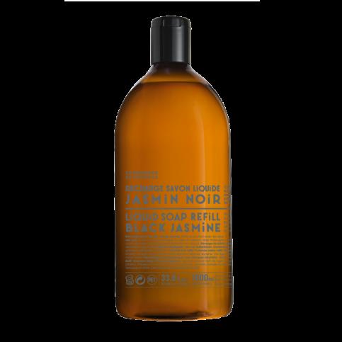 Ricarica Sapone Liquido Di Marsiglia Gelsomino Nero 1lt
