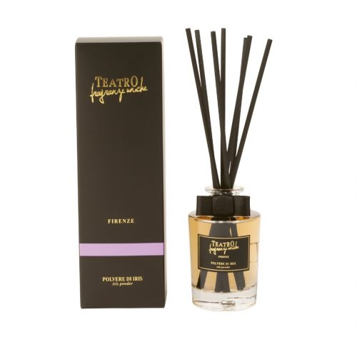 TEATRO Fragranze Uniche Diffusore Con Bastoncini Polvere Di Iris (100,250,500ml)