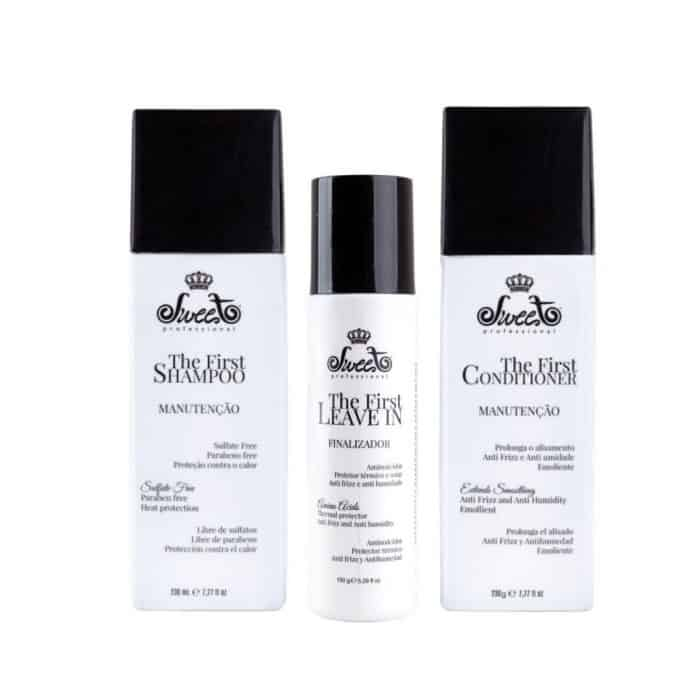 Kit mantenimento anti frizz sweet hair professional the first